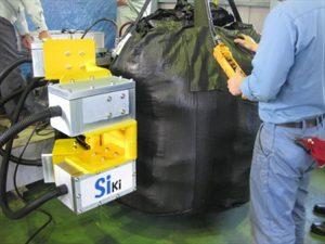 フレコンバッグ線量測定器(Siki)